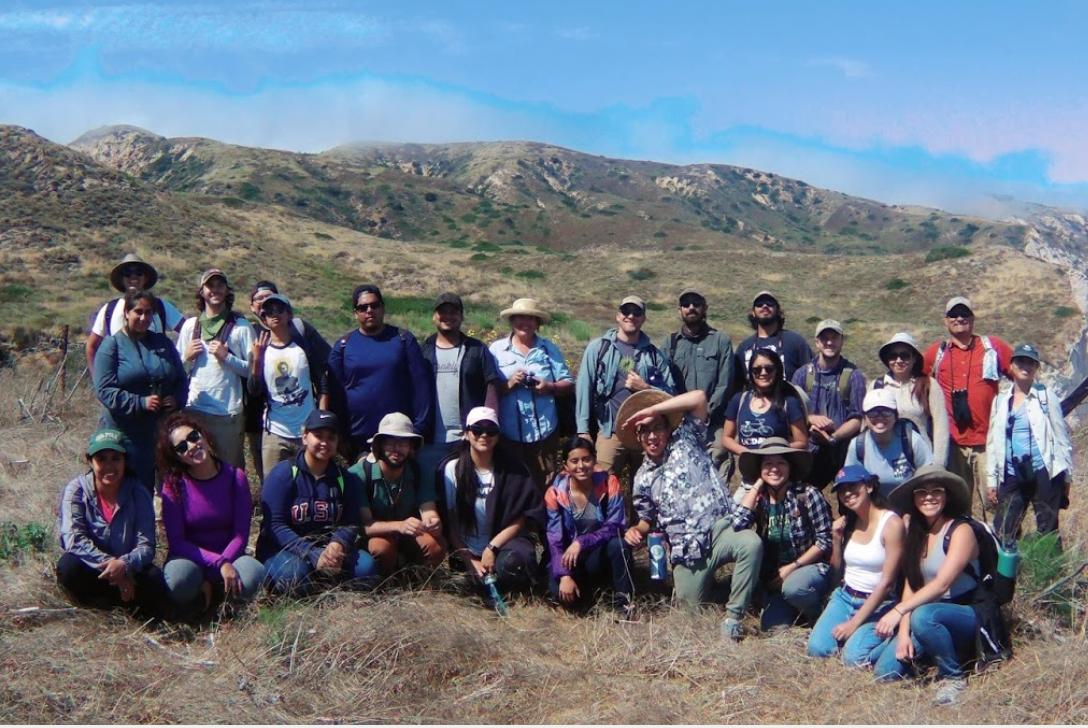 2017 UCSB Smithsonian Scholars Santa Cruz Island Trip (Click on image for slideshow).