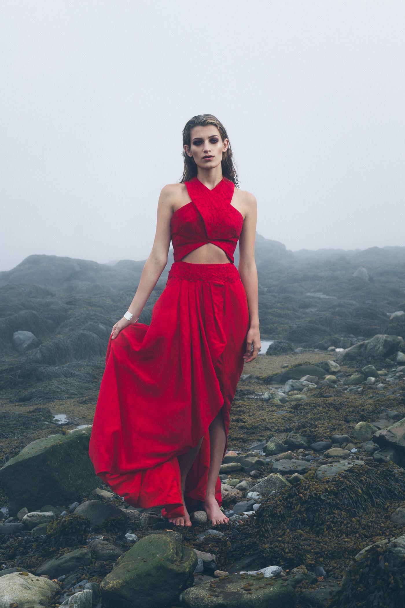 Model:  Athenais Testi  Dress:  Adrienne Goodine