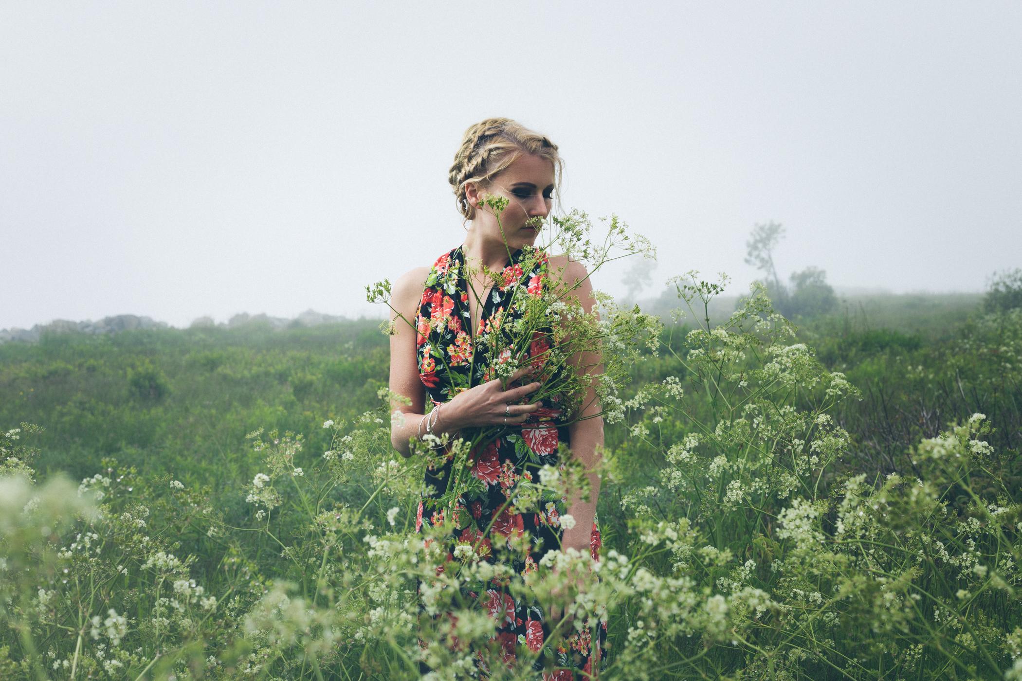 Model:  Rebekah Johnson  Dress:  Chavah Designs