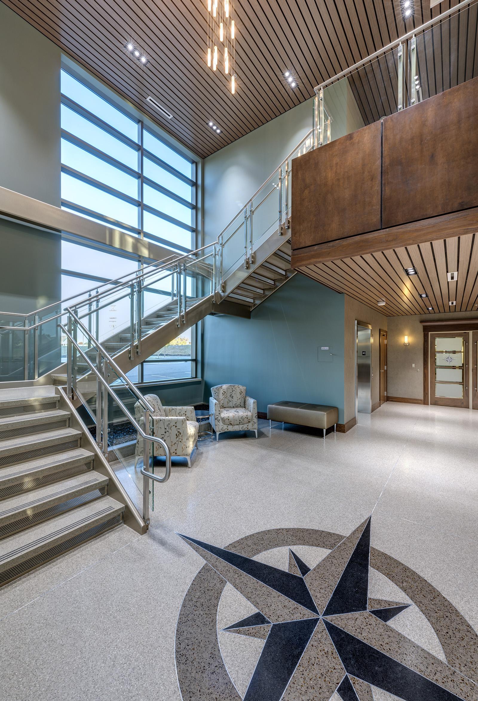 compass-cancer-center-stairway