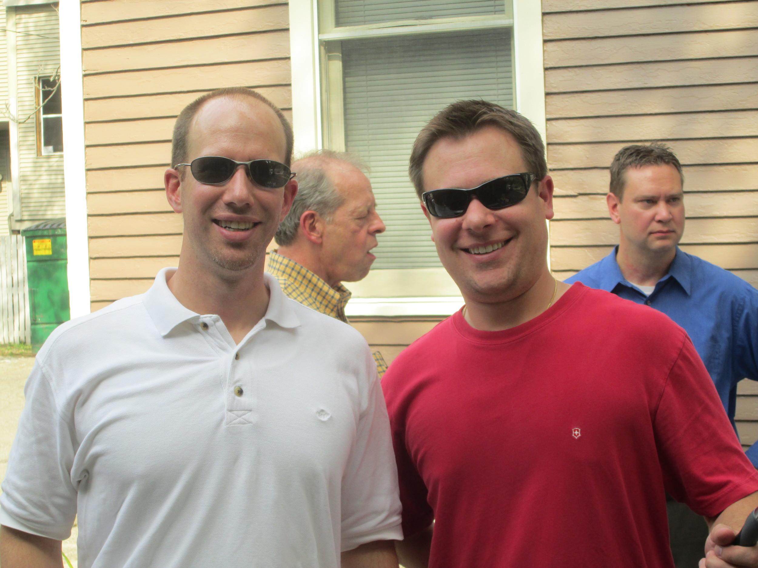 Thank you to our Grillmasters, Dan Pierce and Tony Kraatz!