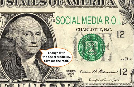 Great presentation on the ROI of social media on  Slideshare .