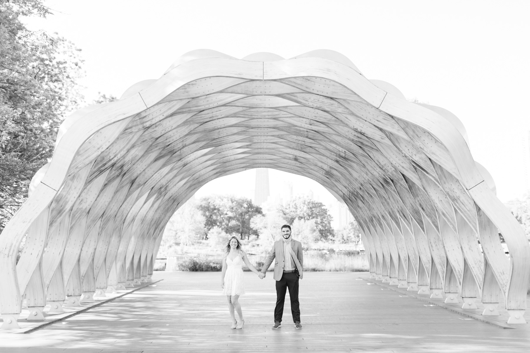 Lincoln Park Zoo Pavilion Engagement Session