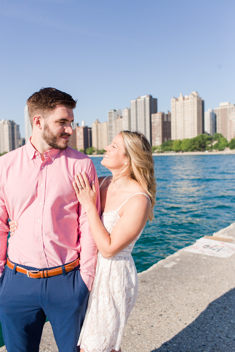 Chicago Skyline Engagement Session