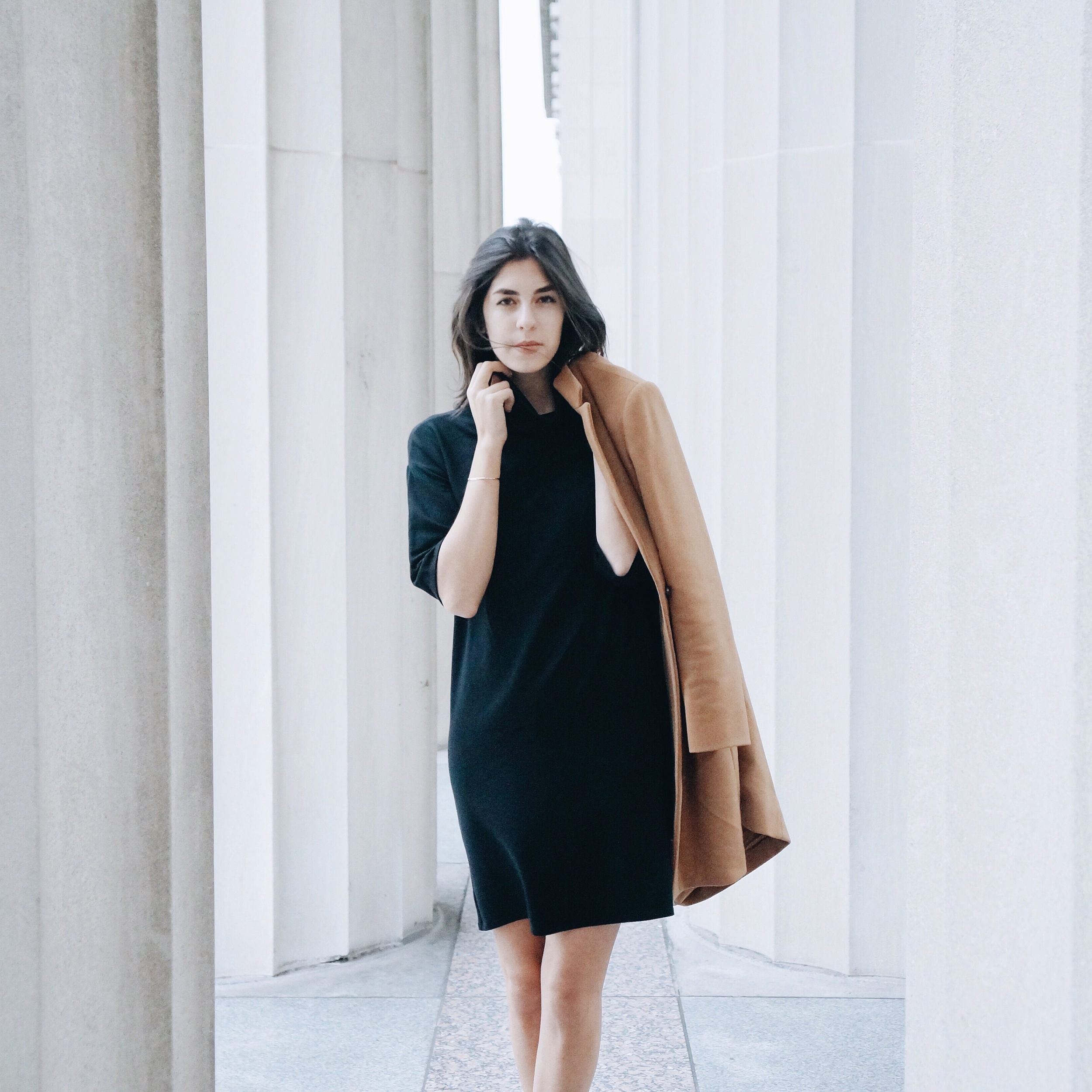 Jordana Claudia of  Jordana Claudia  wearing the Fleece Dress