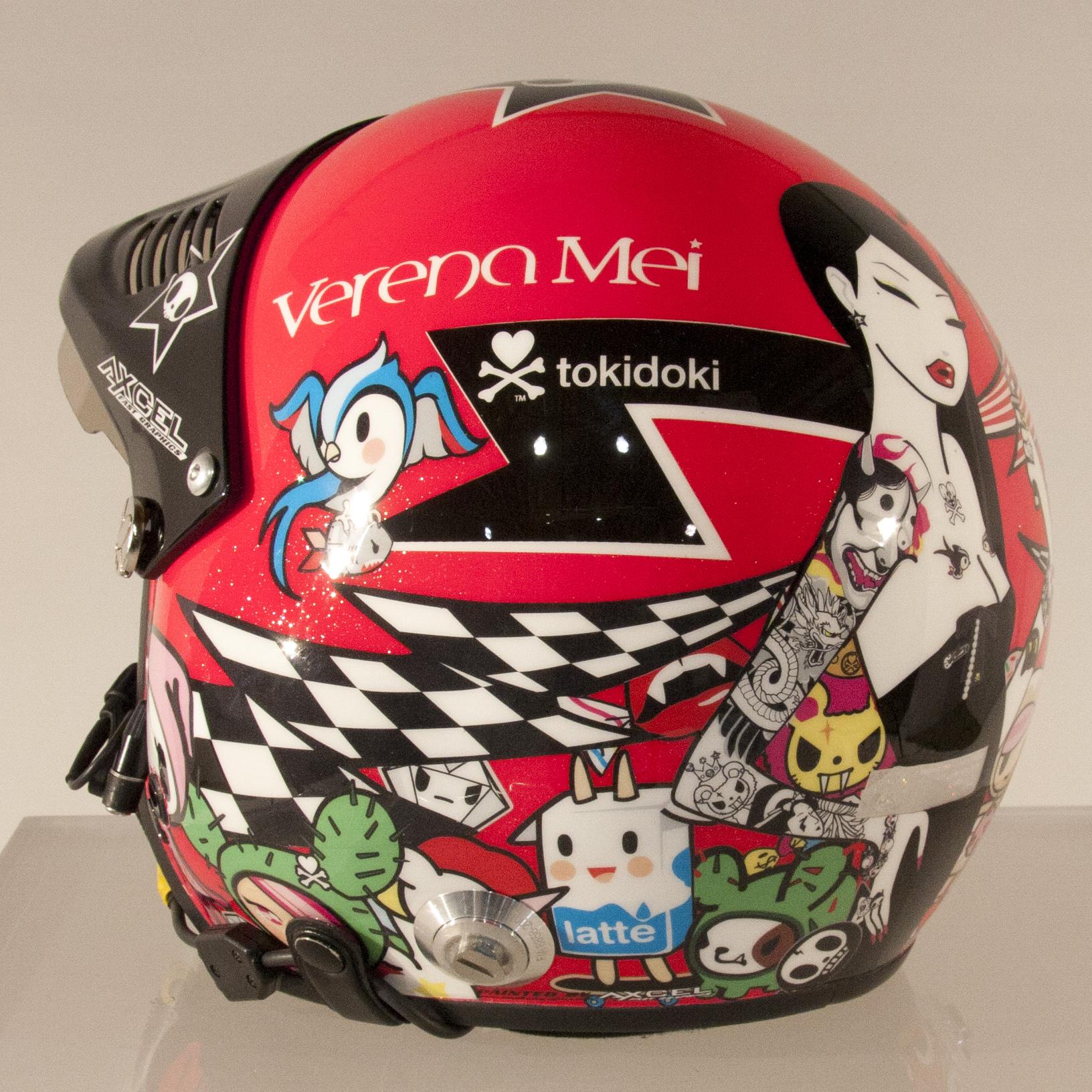 tokidoki helmet left