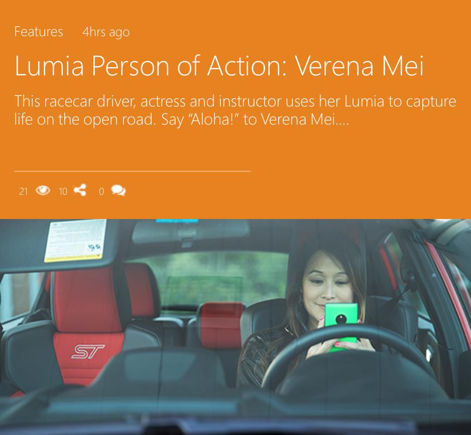 Verena Lumia Blog
