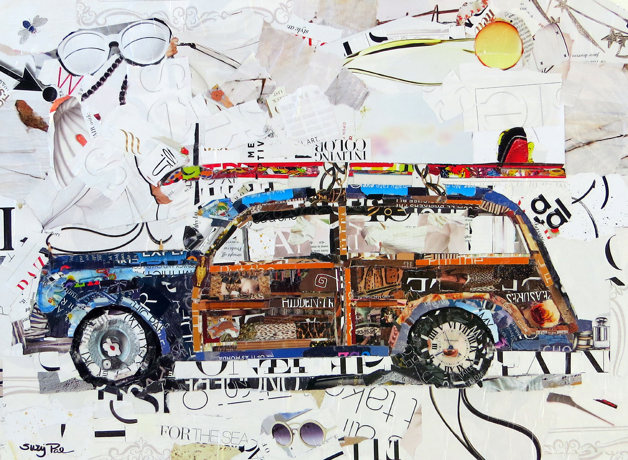 Suzy_powell_woodie_18x24_TornPapercollageonstretced canvas.jpg