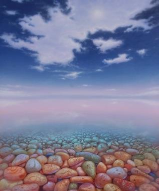 Gregory Carr Simmons  Shallows  30X36  Acrylic