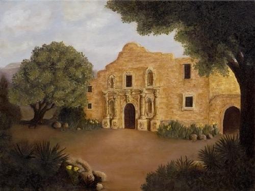 Debra Latham  The Alamo  18X24  Oil on Canvas