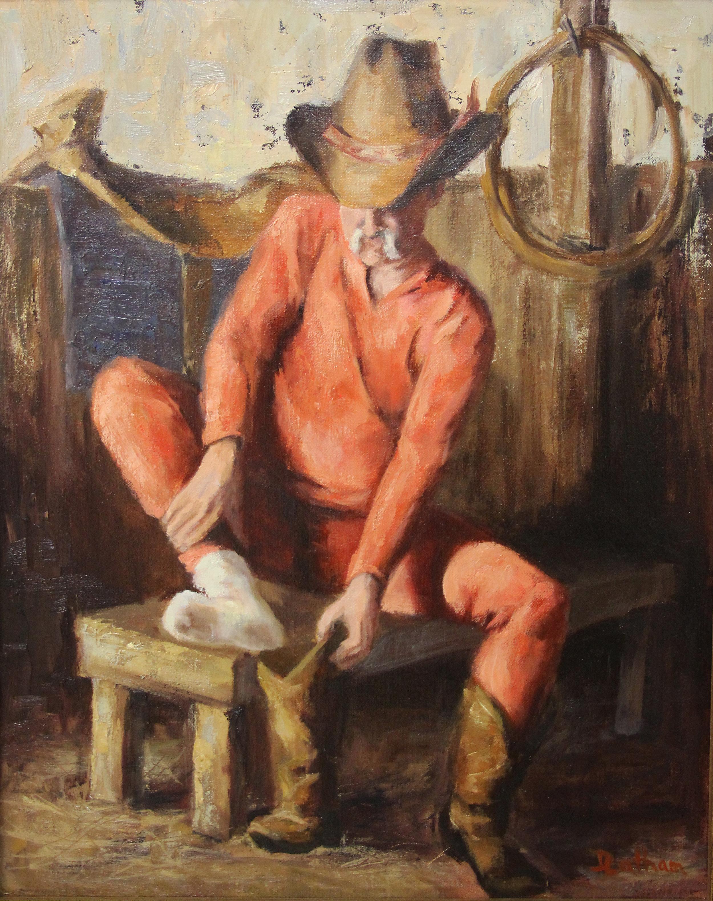 Debra Latham  Long John  Oil on Linen  20X16  SOLD