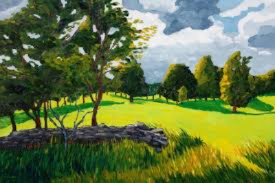Eric Bodtker  Upstate New York Countryside  20X30  Oil