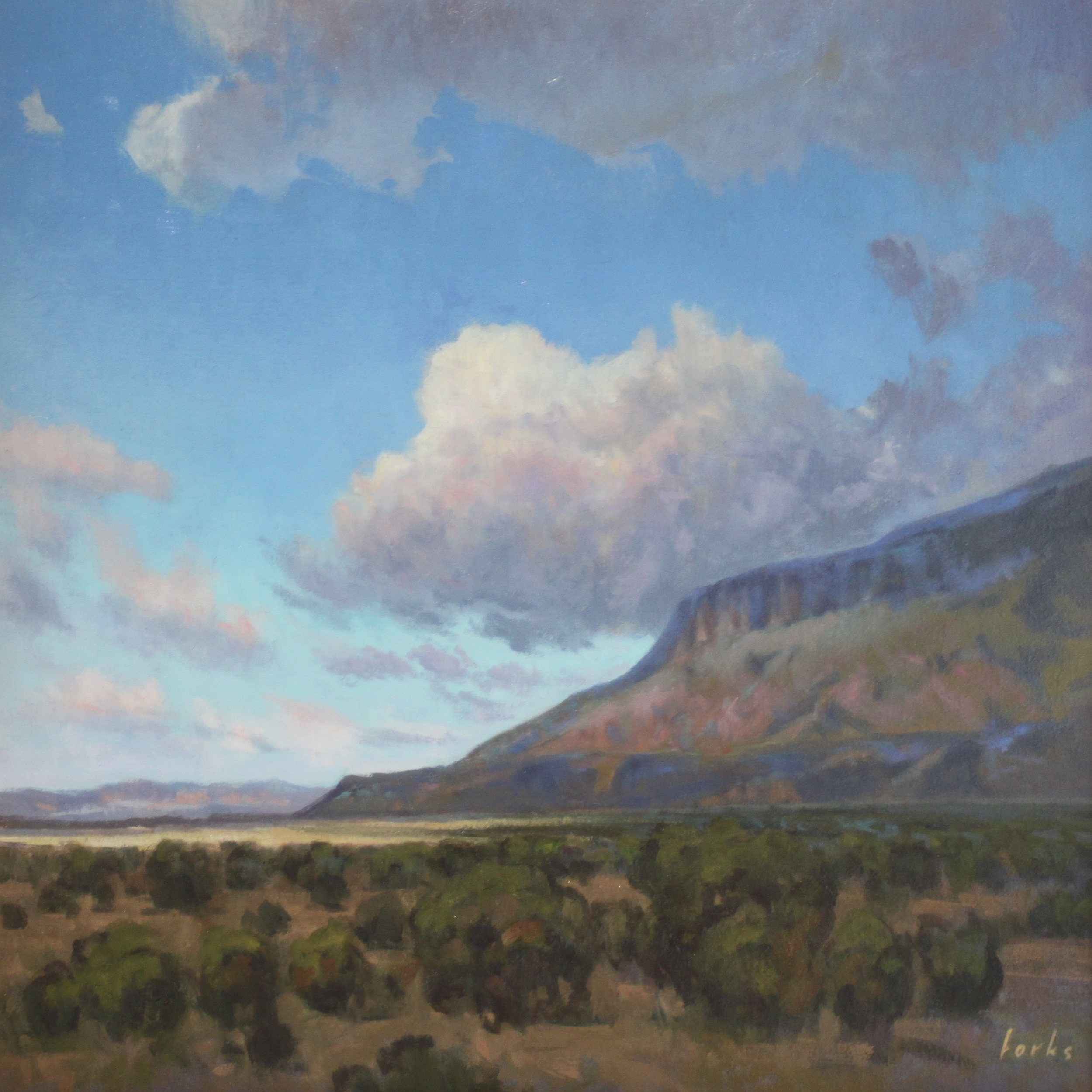 David Forks A Fair Warning 24X24 Oil on Canvas $1,728.jpg