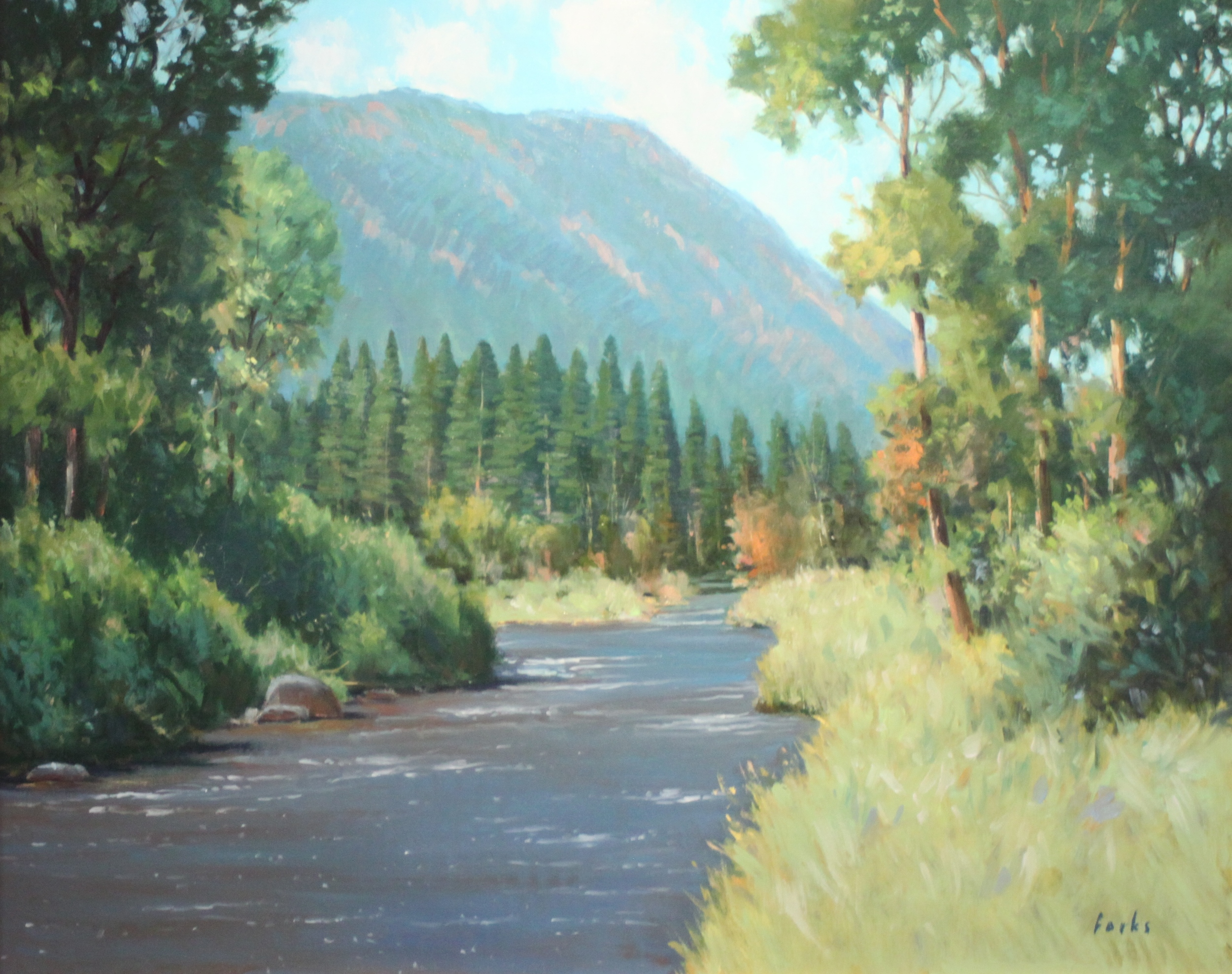David Forks On the River 24X30 Oil on Canvas $2,160.jpg