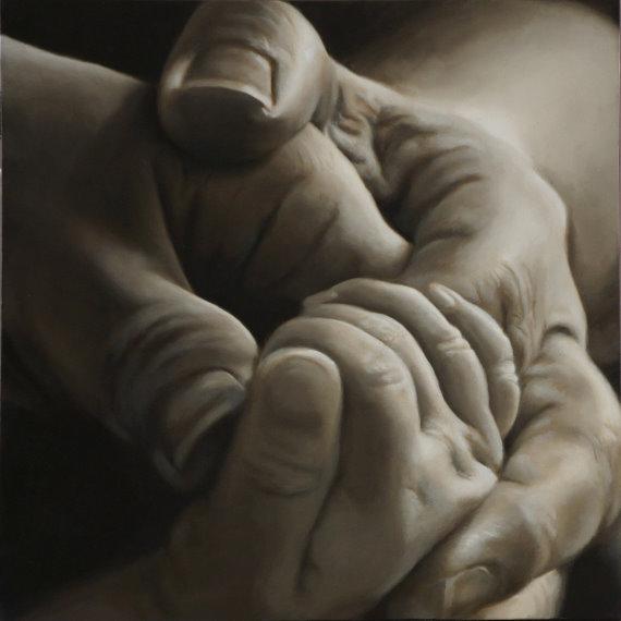 Nancy Hines First Born 36X36 Oil on Canvas.jpg