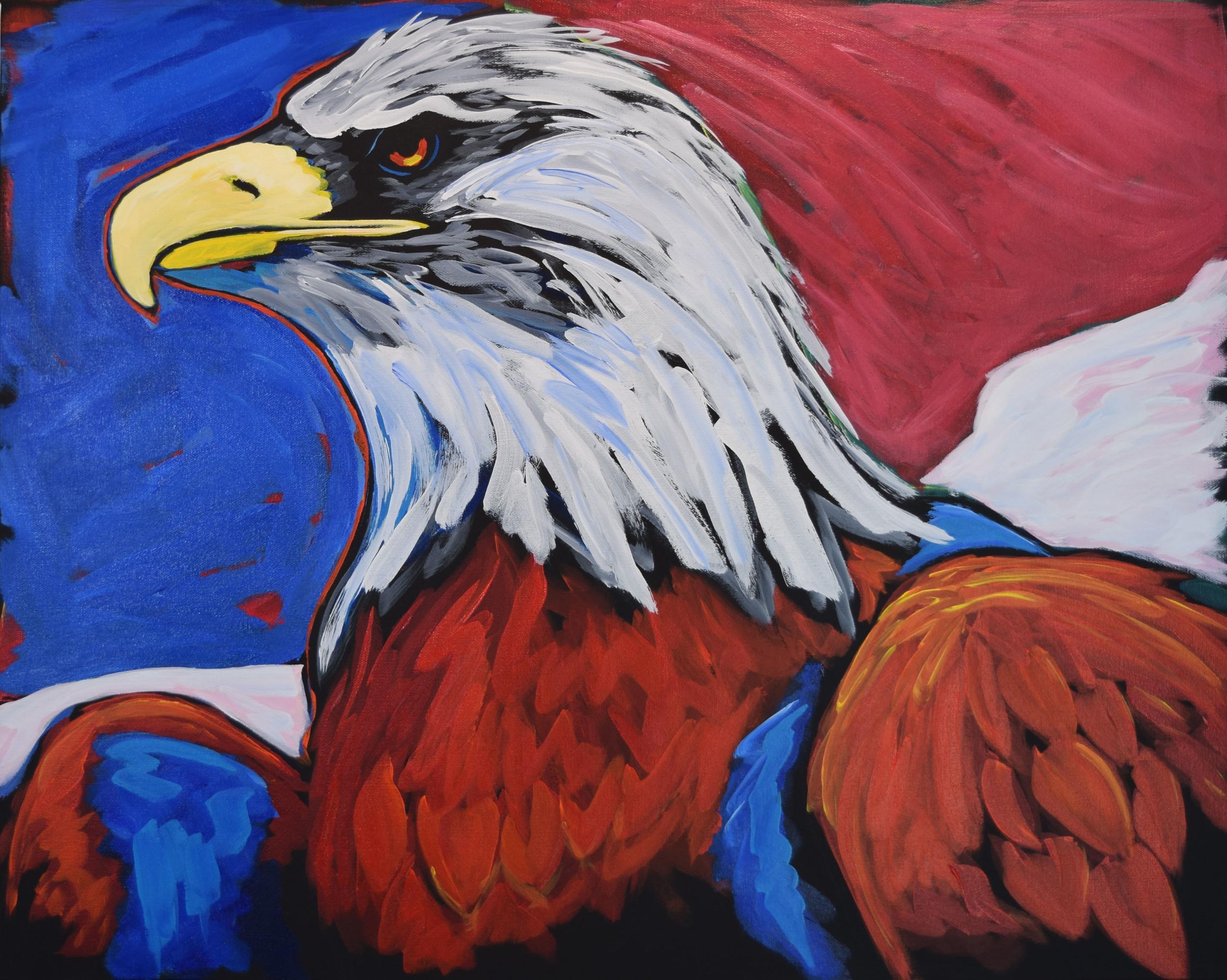 D.R. Jones Totem 24X30 Acrylic on Canvas $1,080.jpg