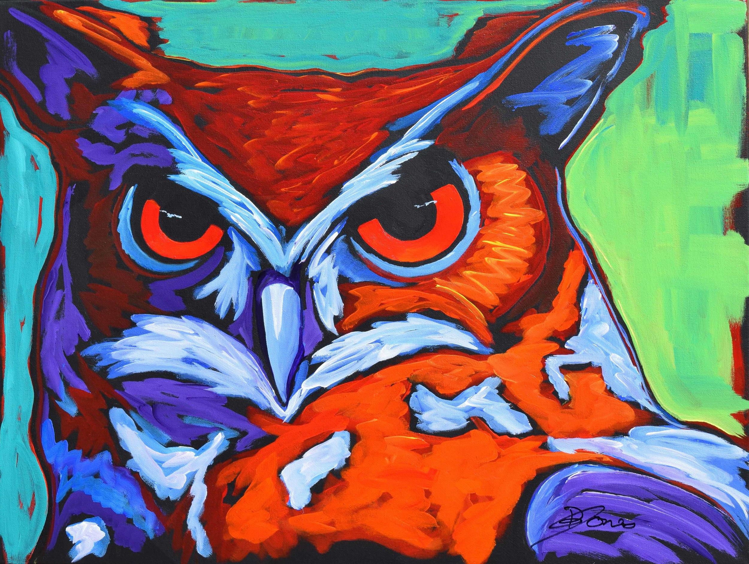 D.R. Jones Wise Guy 24X30 Acrylic on Canvas $1,080.jpg