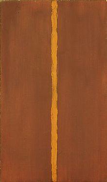 Onement 1 by Barnett Newman