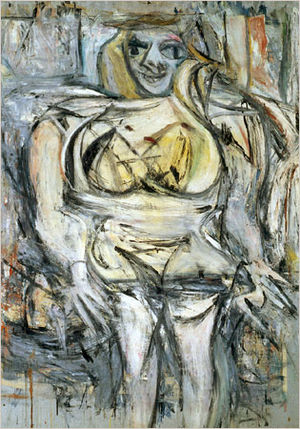Willem de Kooning's Woman III