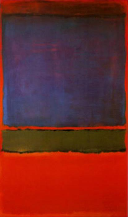 Mark Rothko's No. 6 (Violet,Green & Red)