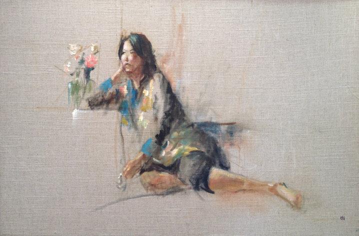 Hilda Lockley Rueda Eastern Star 24X36 Acrylic on Linen.jpg