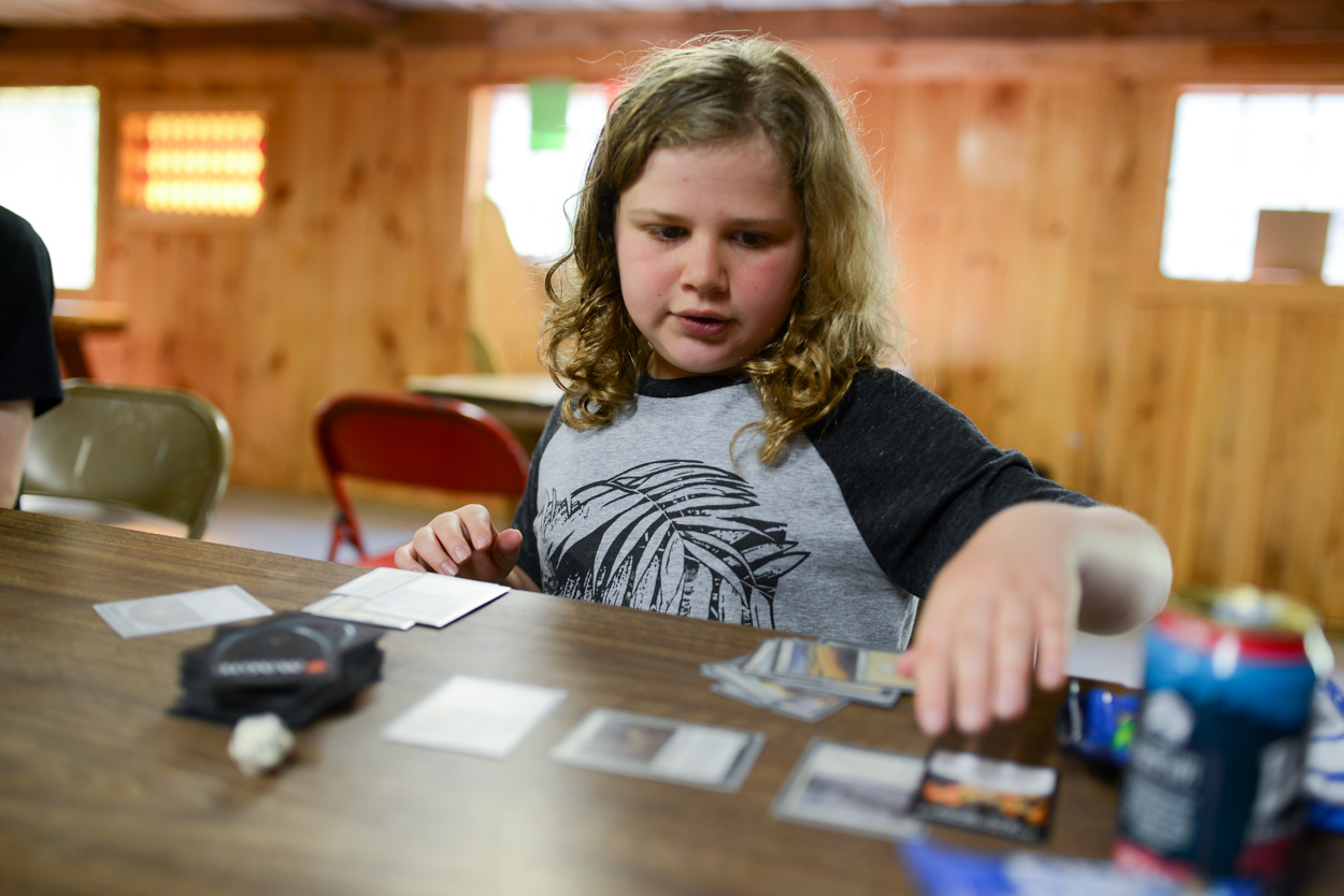 Magic In The Red Barn During Interest Groups. June 27, 2018