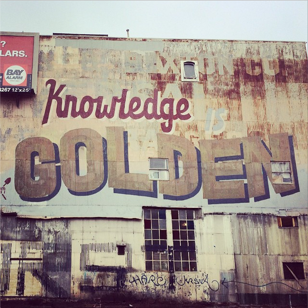 Knowledge is Golden