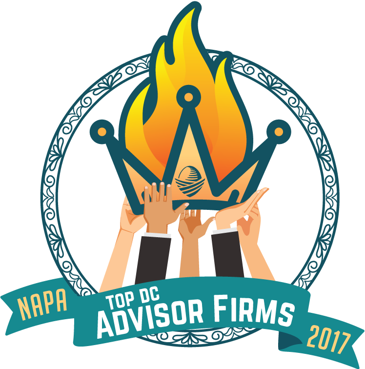 Named #12 out of 252 firms on NAPA's Top DC Advisor Firms in the country.
