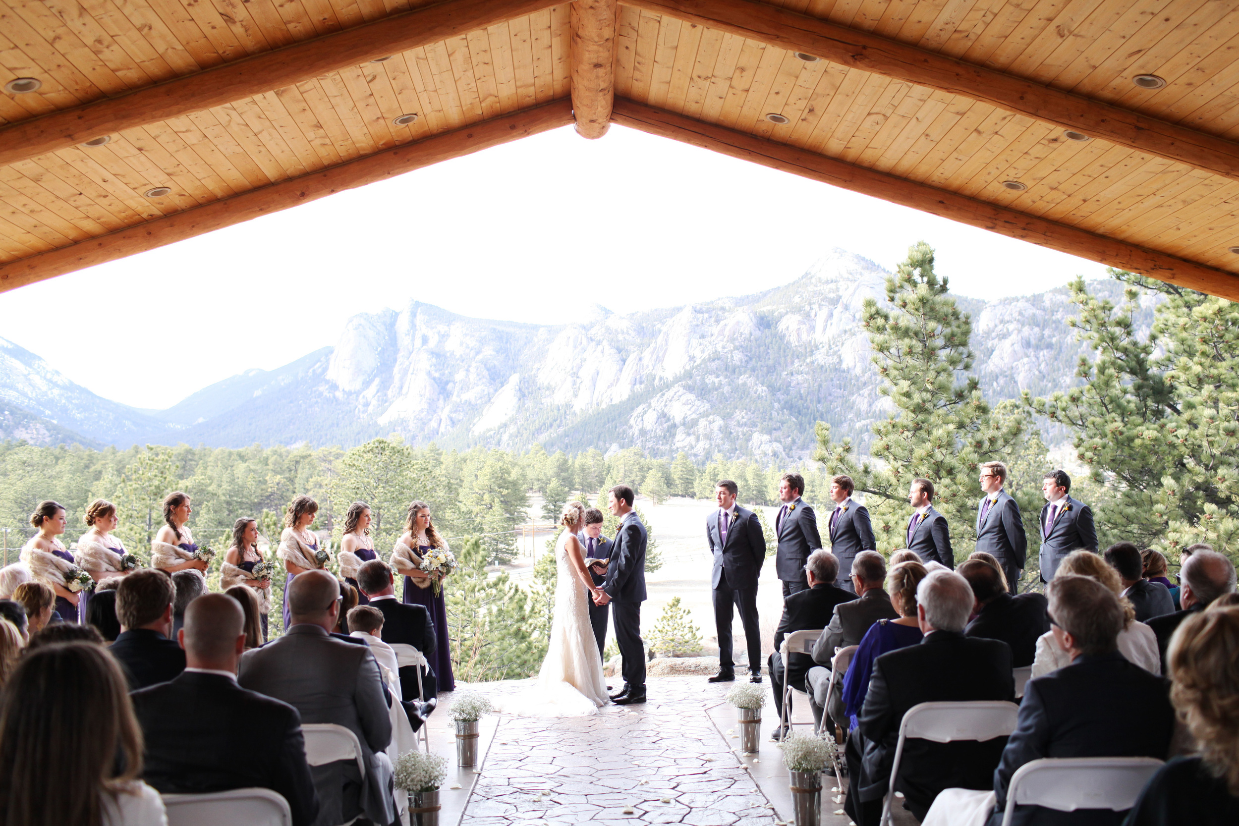 Spring Mountain Wedding | Estes Park, Colorado | Bello & Blue Events | Colorado & Denver Wedding Planner