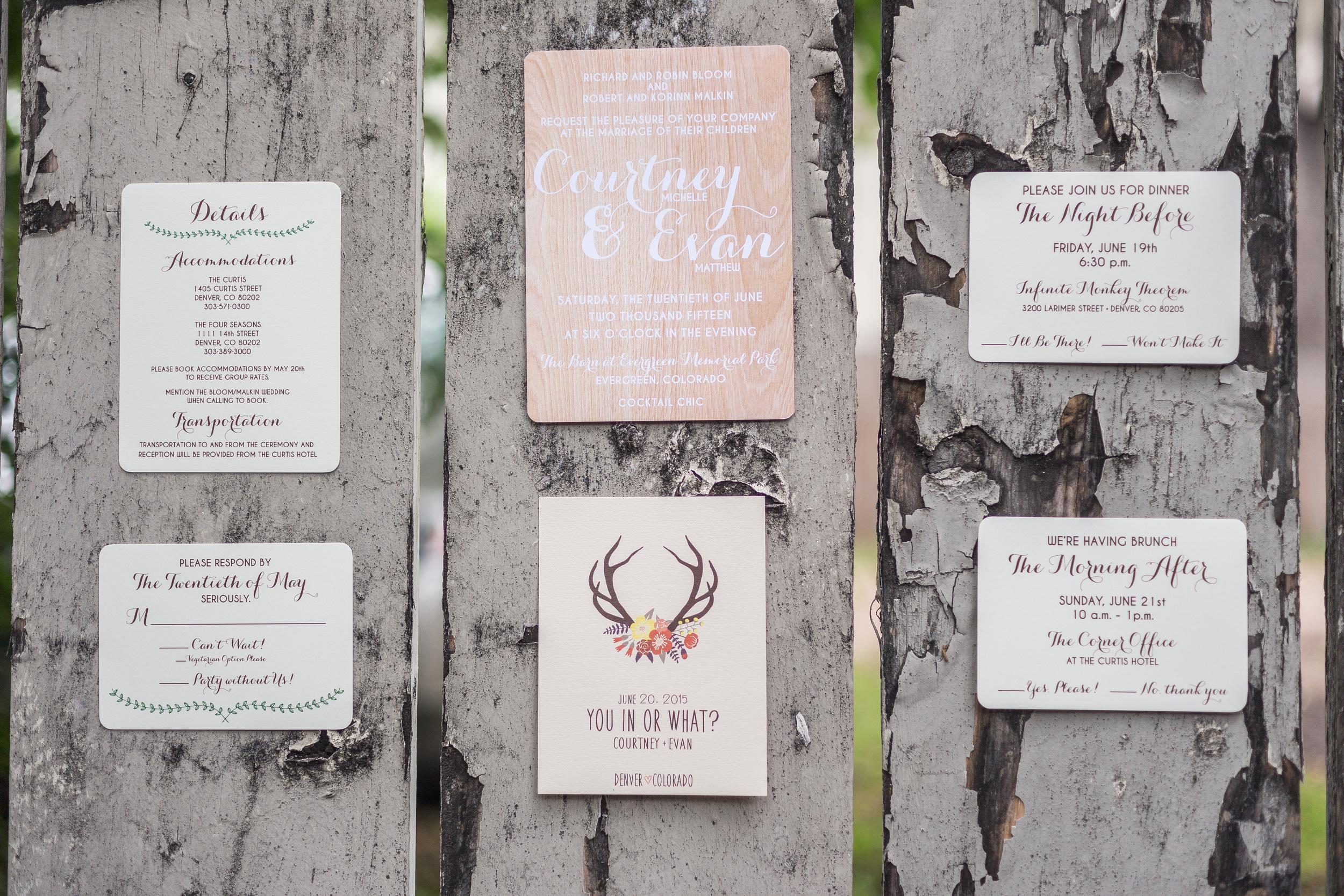 Rustic Barn Wedding | Evergreen, Colorado | Bello & Blue Events | Colorado & Denver Wedding Planner