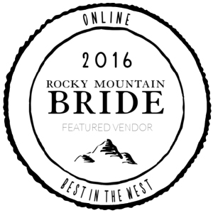 2016 Rocky Mountain Bride Featured Vendor