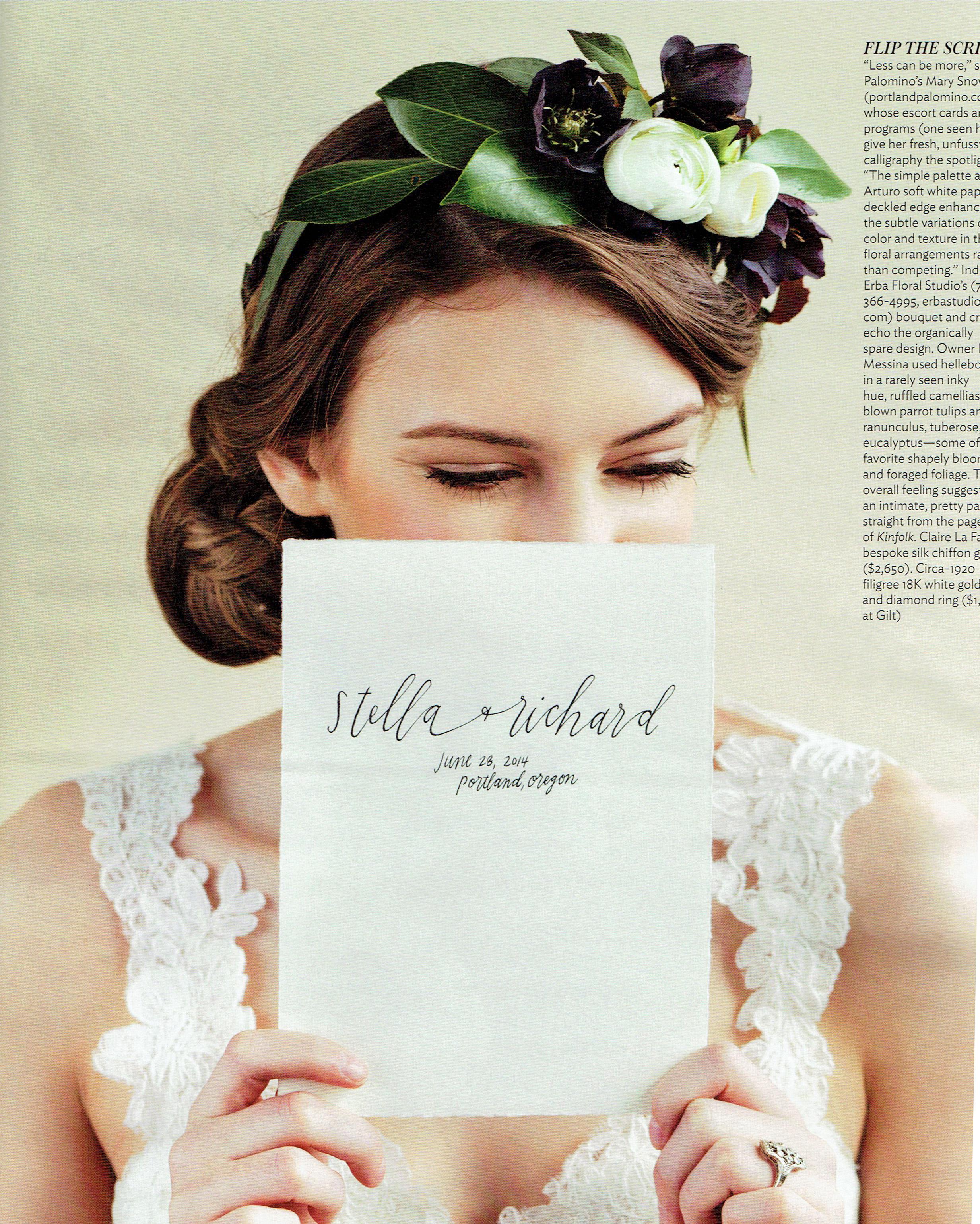Portland Bride and Groom - Summer/Fall 2014