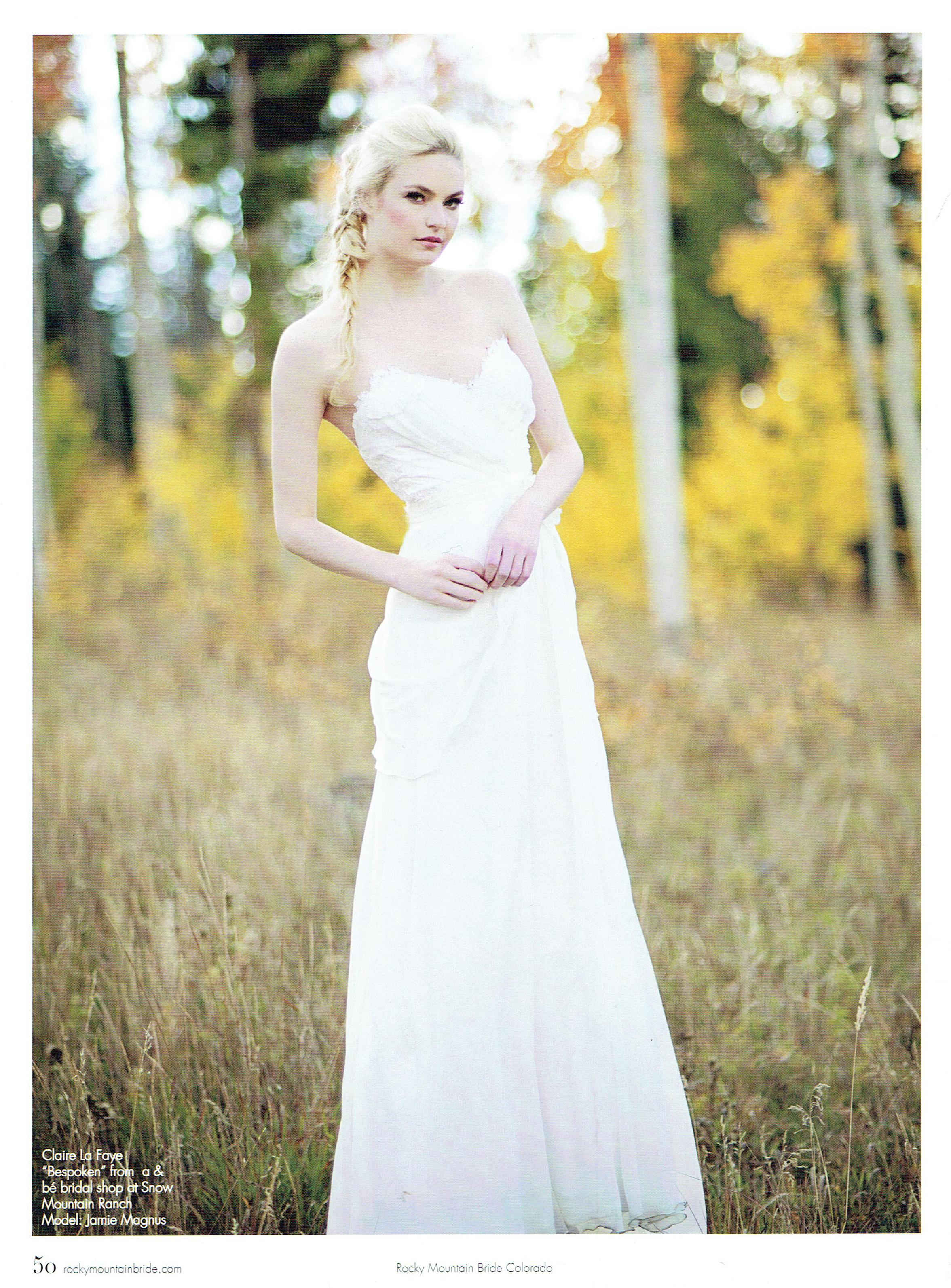 Rocky Mountain Bride Colorado - Fall 2014