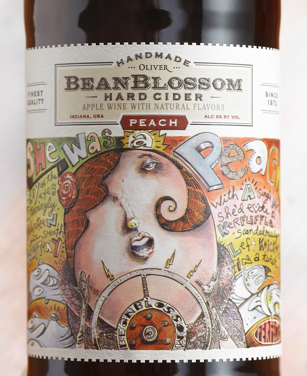 Bean Blossom Peach label.jpg