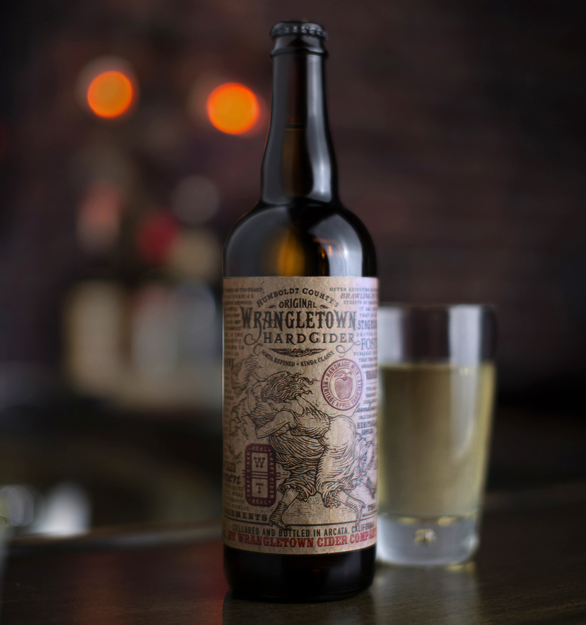 Auston Design Group - Wrangletown Cider - Still Life