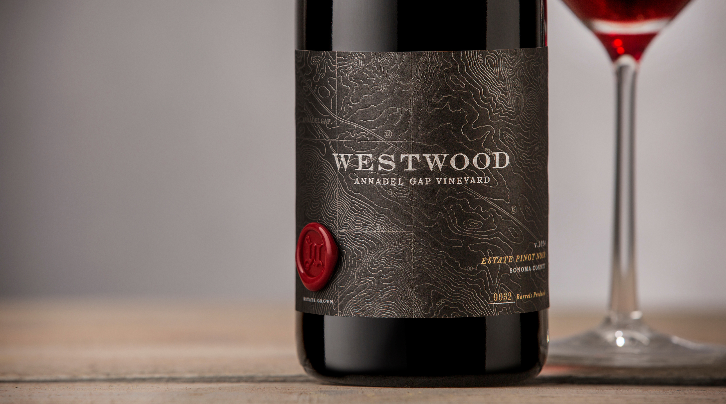 Auston Design Group - Westwood Winery - Pinot Noir Close-up