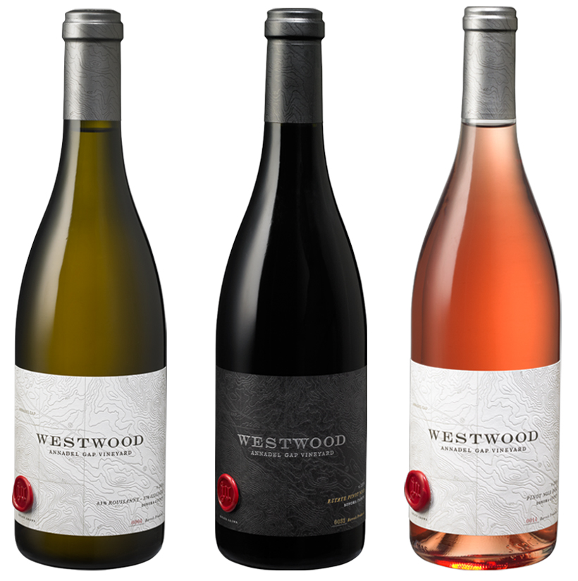 Auston Design Group - Westwood Winery - White, Red, Rosé
