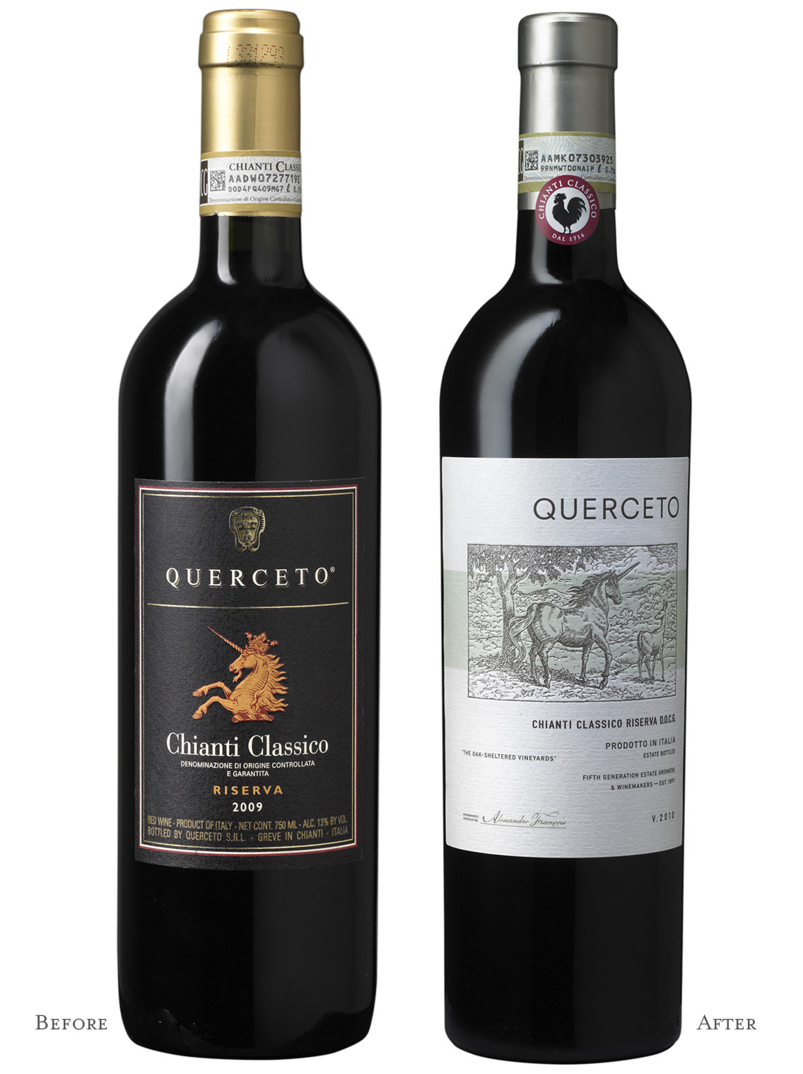 Auston Design Group - Querceto Chianti Before/after