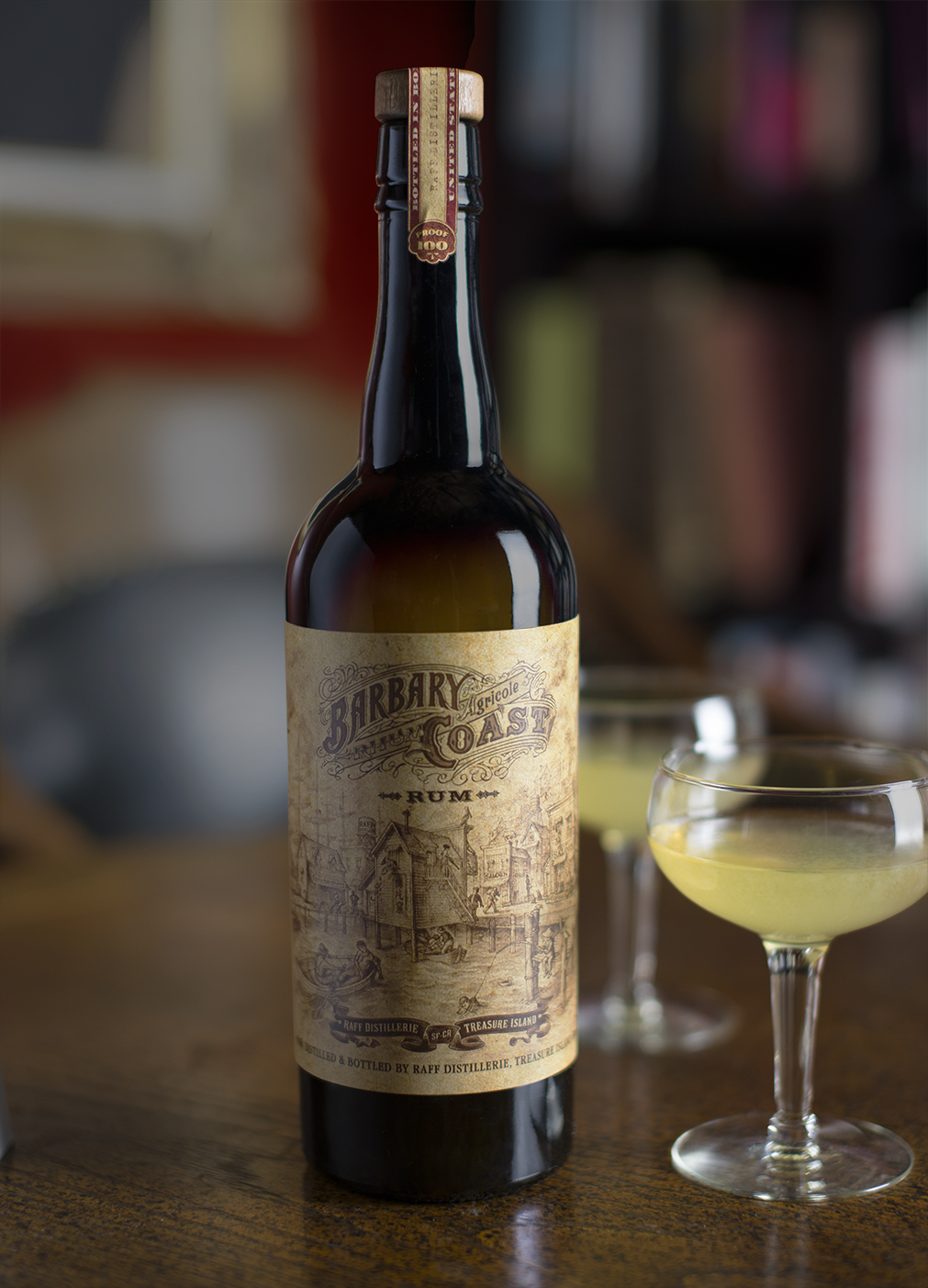 Auston Design Group - Raff Distillerie - Barbary Coast Rum