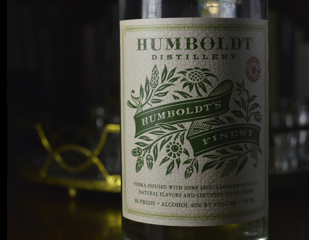 Auston Design Group - Humboldt Distillery - Hemp Vodka Close-up 2