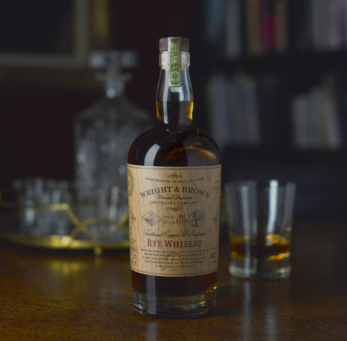 Auston Design Group - Wright & Brown Distilling Co. - Rye