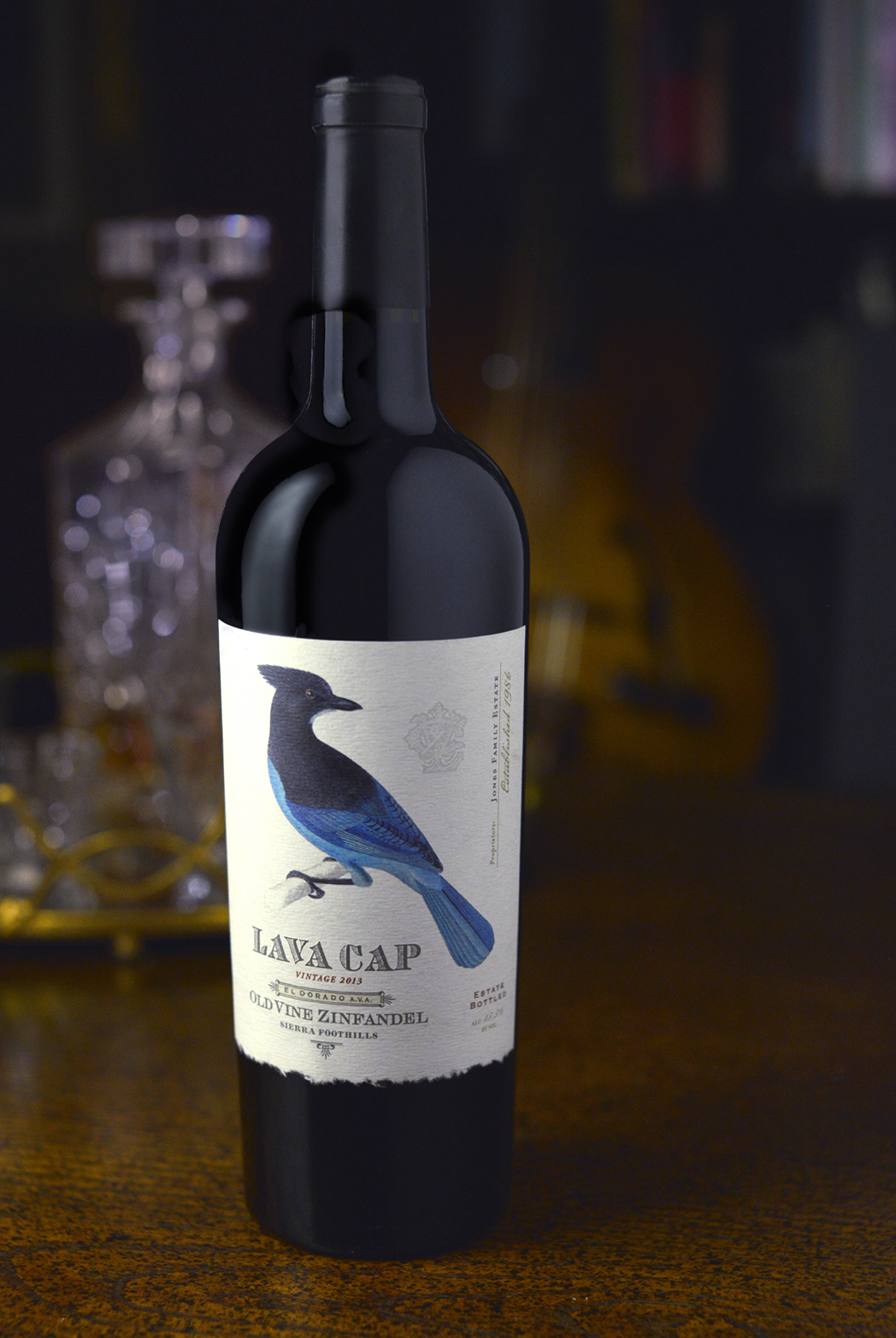 Auston Design Group - Lava Cap Winery - Package Design