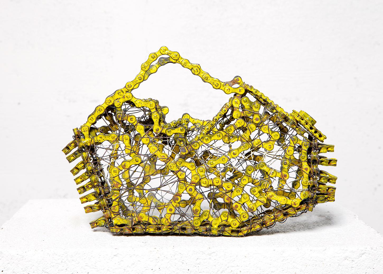 """Bike Chain Handbag"", 2014"