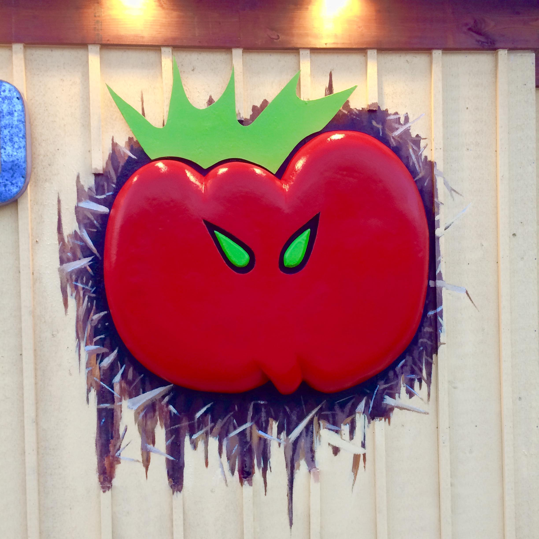 Wild Tomato 3D Logo - Fish Creek, Door County