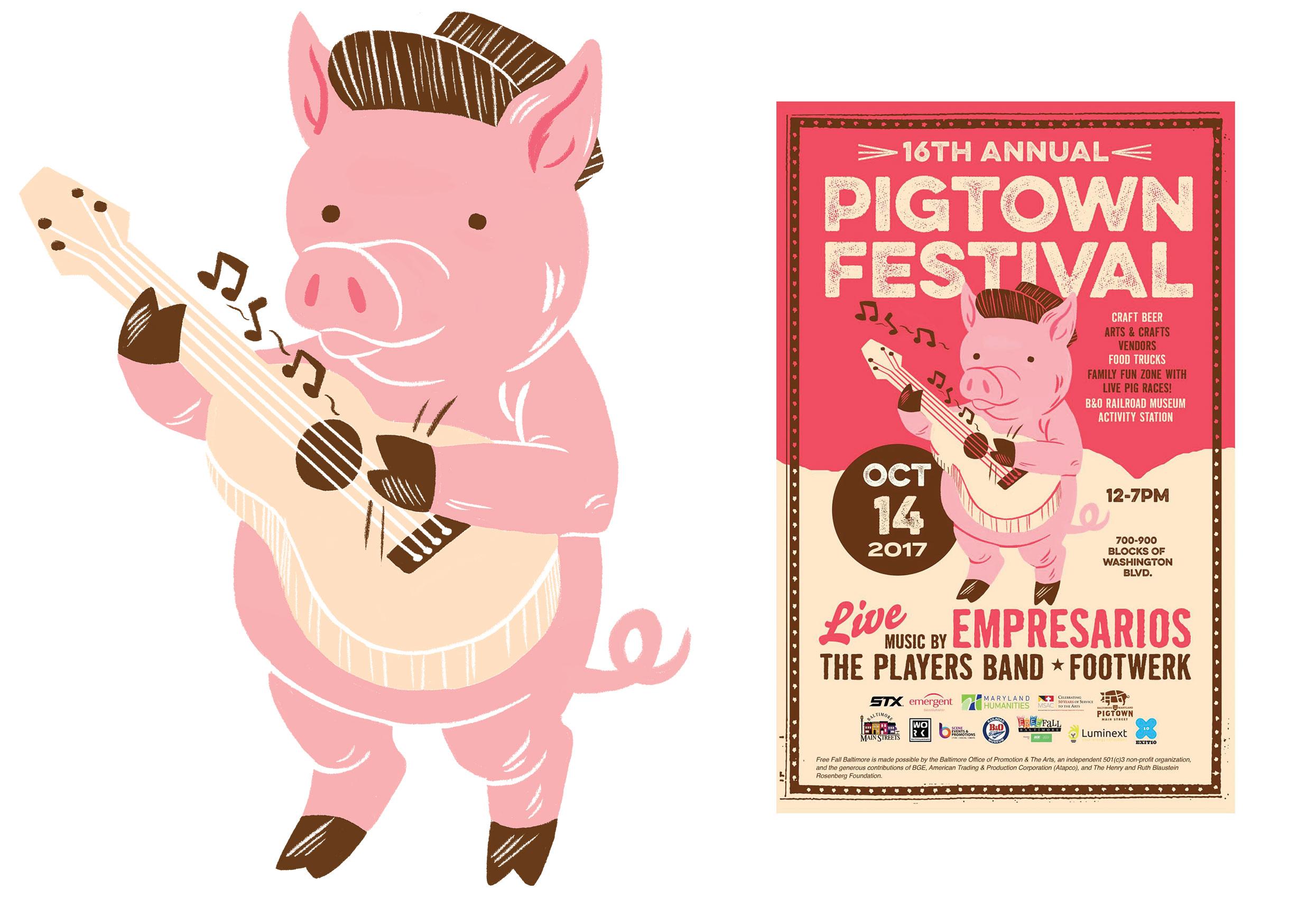 Pigtown Festival Pig