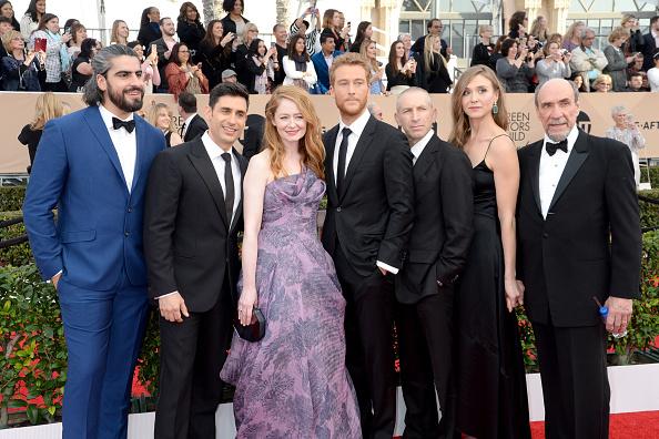 Actors   Rene Ifrah  ,  Miranda Otto  , Alexander Fehling, Mark Ivanir, Sarah Sokolovic and F. Murray Abraham attend The 22nd Annual Screen Actors Guild Awards