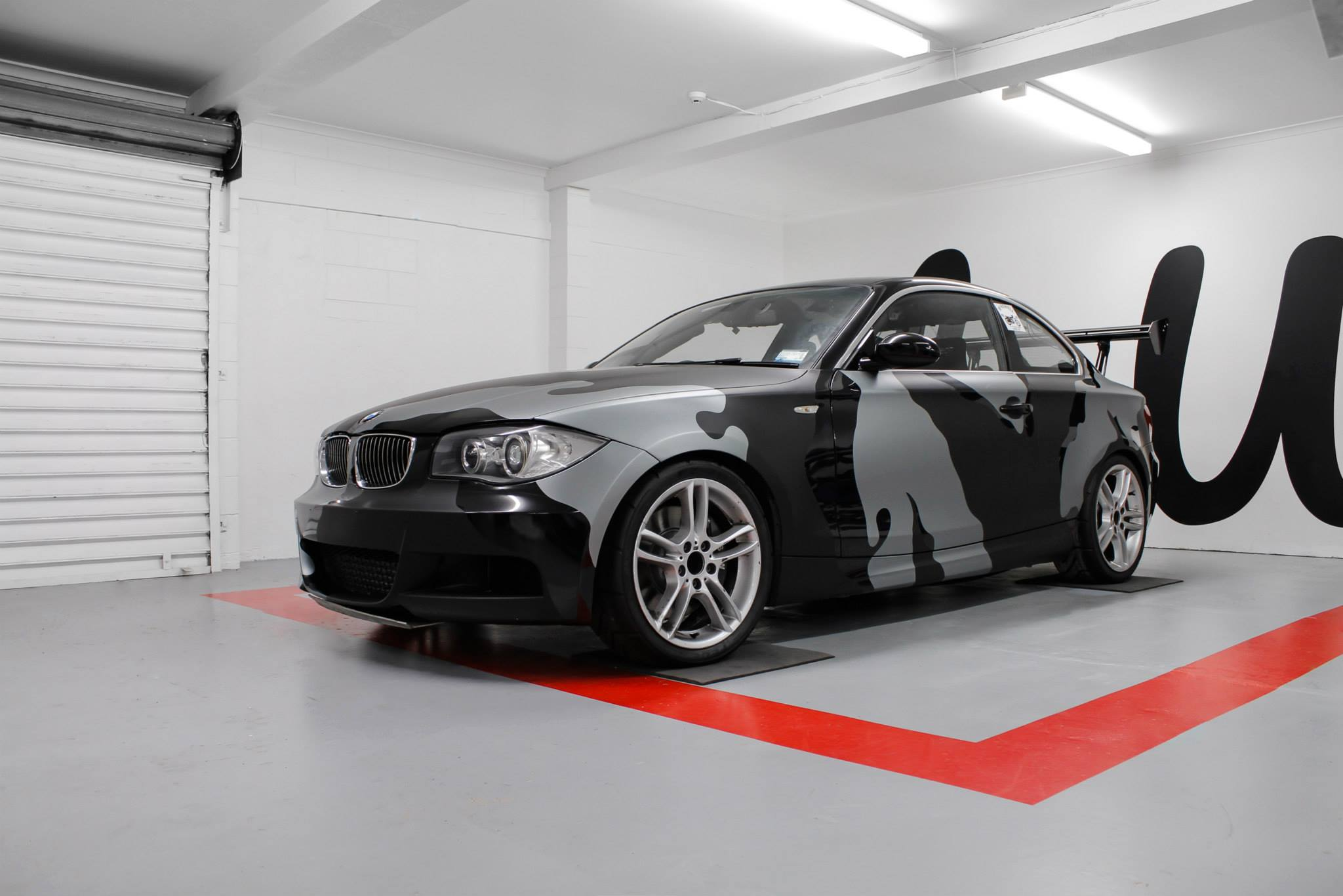Wrapped Camo BMW M series