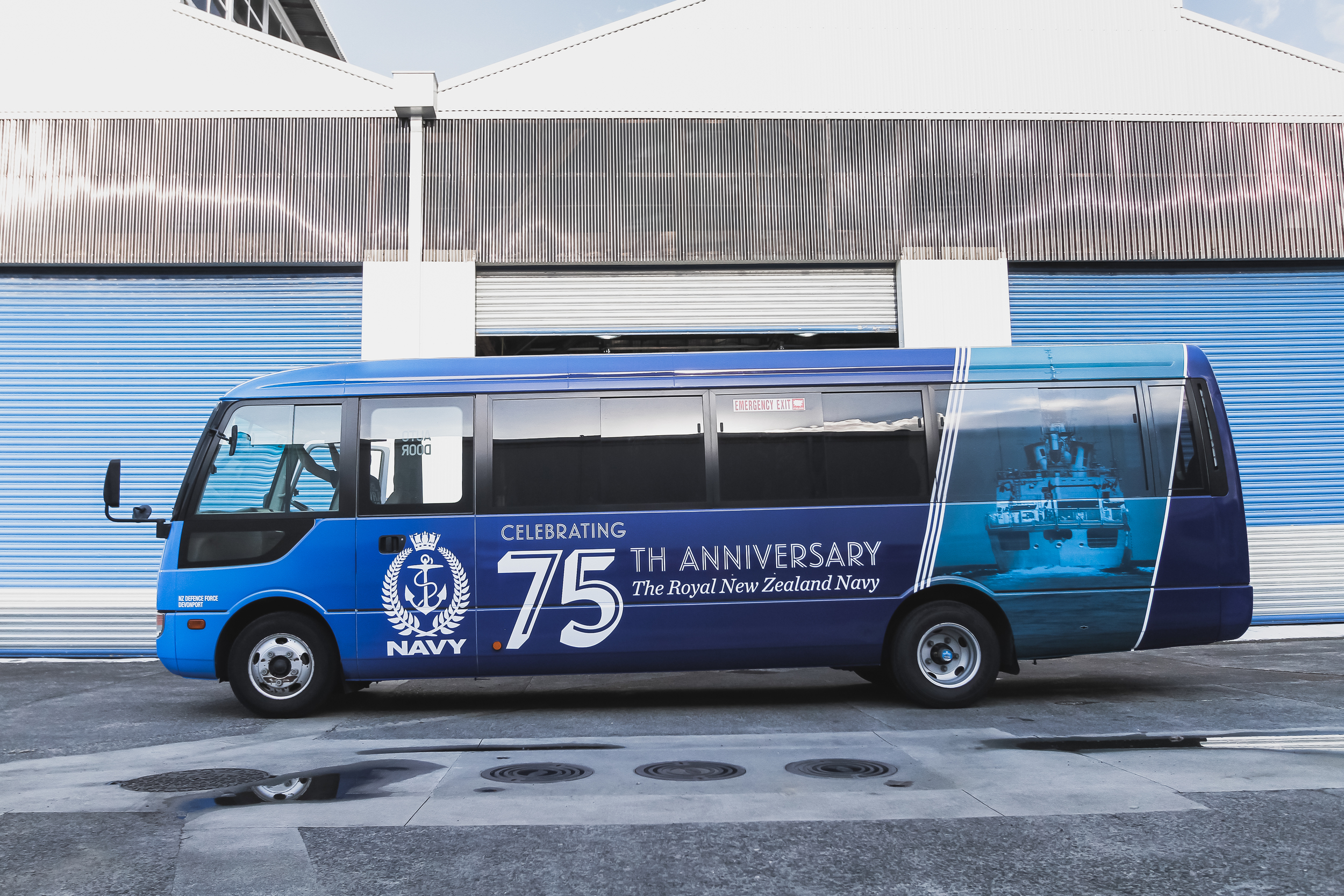 Royal New Zealand Navy Bus