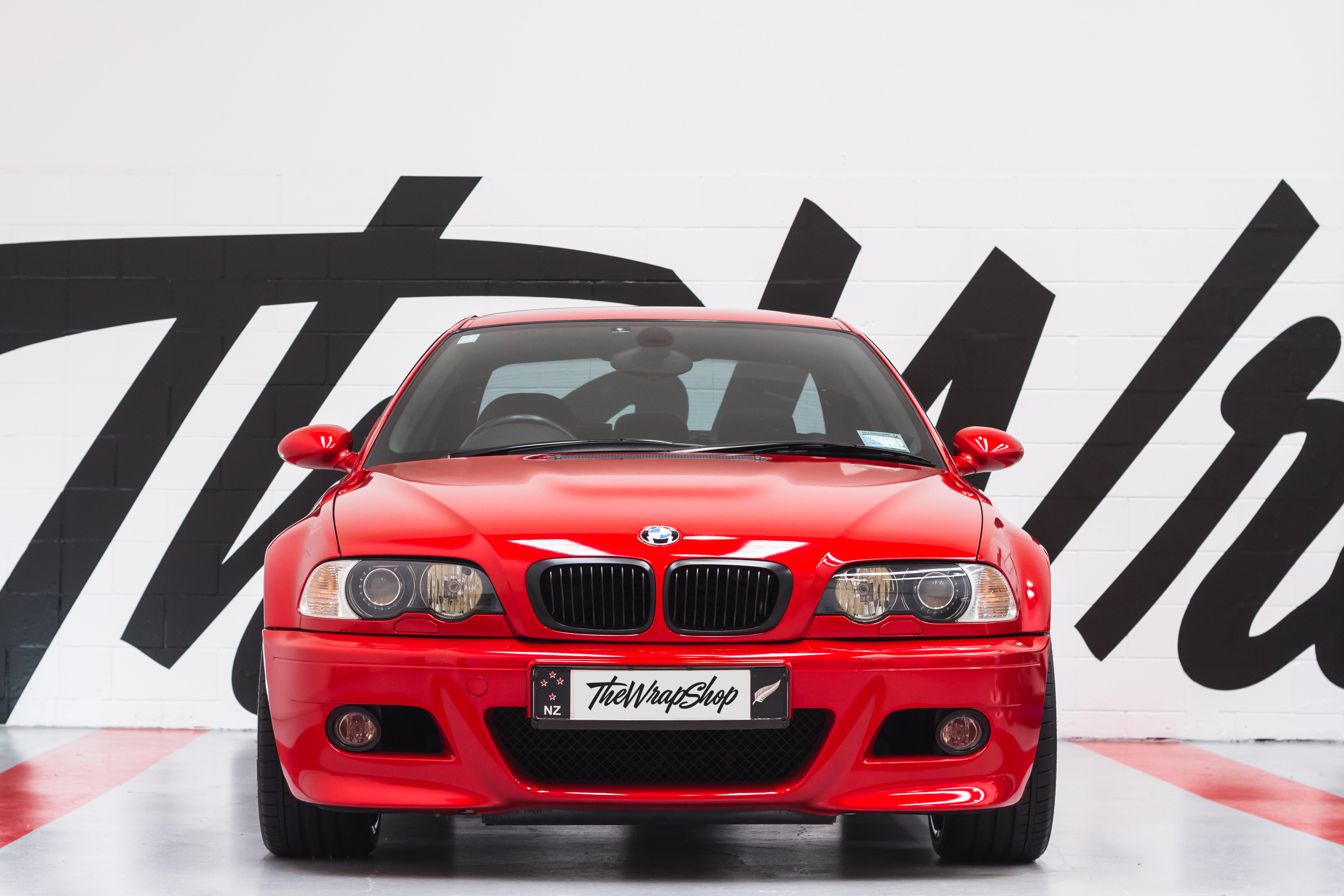 E46 BMW M3 wrapped