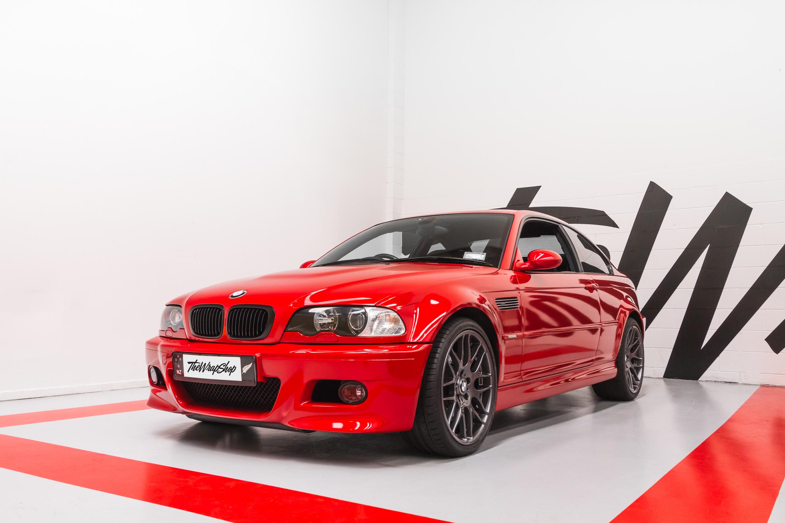 vinyl wrap E46 BMW M3